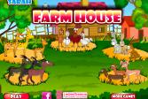 Играть Сара Фермерский дом онлайн флеш игра для детей