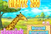 Играть Жираф зоопарк онлайн флеш игра для детей