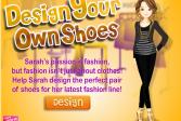 Играть Дизайн обуви для Сары онлайн флеш игра для детей
