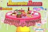 Играть Романтический ужин онлайн флеш игра для детей