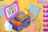 Играть Коробка с обедом онлайн флеш игра для детей