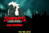 Играть Овцы под ударом онлайн флеш игра для детей