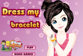 Играть Дизайн браслета онлайн флеш игра для детей
