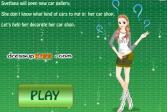 Играть Автосалон Светланы онлайн флеш игра для детей