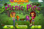 Играть Пикник с пирогами онлайн флеш игра для детей