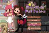 Играть Ангел и Чертёнок онлайн флеш игра для детей