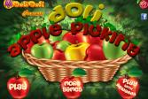 Играть Яблочный пикник онлайн флеш игра для детей
