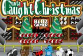 Играть Санта ловит Рождество онлайн флеш игра для детей