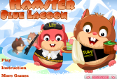Играть Хомяк Голубая Лагуна онлайн флеш игра для детей