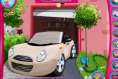 Играть Модное украшение автомобиля онлайн флеш игра для детей