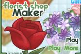 Играть Цветочный магазин онлайн флеш игра для детей