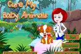 Играть Вылечи моих зверюшек онлайн флеш игра для детей