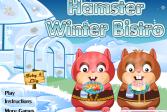 Играть Зимнее кафе хомячка онлайн флеш игра для детей
