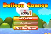 Играть Пушка и воздушные шары онлайн флеш игра для детей