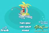 Играть Удачной рыбалки онлайн флеш игра для детей