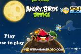 Играть Злые птицы в космосе онлайн флеш игра для детей