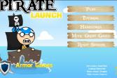 Играть Запуск пирата онлайн флеш игра для детей