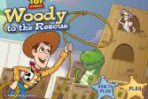 Играть История игрушек, спасение Вуди онлайн флеш игра для детей