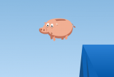 Играть Спаси свинью онлайн флеш игра для детей