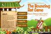 Играть Мышь идущая по канату онлайн флеш игра для детей