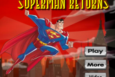 Играть Супермен возвращается онлайн флеш игра для детей