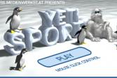Играть Йети спорт онлайн флеш игра для детей