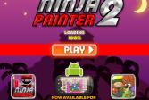 Играть Ниндзя художник 2 онлайн флеш игра для детей