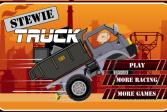 Играть Стьюи грузовик онлайн флеш игра для детей