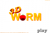 Играть 3D змейка онлайн флеш игра для детей