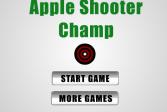 Играть Стрельба по яблоку онлайн флеш игра для детей