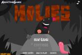 Играть Кроты онлайн флеш игра для детей