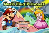 Играть Марио найди принцессу онлайн флеш игра для детей