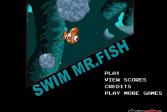 Играть Плавание мистера рыбы онлайн флеш игра для детей