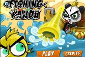 Играть Панда-рыболов онлайн флеш игра для детей