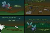 Играть Убей насекомых онлайн флеш игра для детей