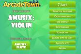 Играть Амузих: Скрипка онлайн флеш игра для детей