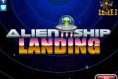 Играть Чужеродный десантный корабль онлайн флеш игра для детей