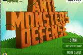 Играть Против монстров онлайн флеш игра для детей