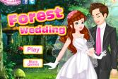 Играть Лесная свадьба онлайн флеш игра для детей