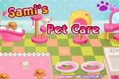 Играть Котёнок в салоне онлайн флеш игра для детей