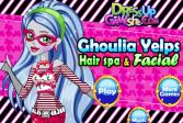 Играть Уход за лицом и волосами Гулии Эпс онлайн флеш игра для детей