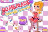 Играть Домашние секреты красоты онлайн флеш игра для детей
