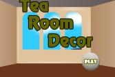 Играть Декор чайной комнаты онлайн флеш игра для детей