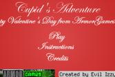 Играть Приключения Купидона онлайн флеш игра для детей