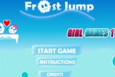 Играть Фрост прыжки онлайн флеш игра для детей
