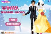 Играть Зимнее свадебное платье онлайн флеш игра для детей