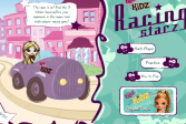 Играть Детки Братц - гоночные звёзды онлайн флеш игра для детей