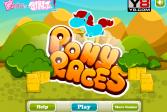 Играть Гонки на пони онлайн флеш игра для детей