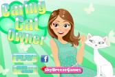 Играть Уход за кошками онлайн флеш игра для детей