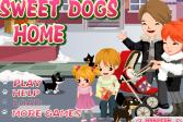 Играть Милый домик для собачки онлайн флеш игра для детей